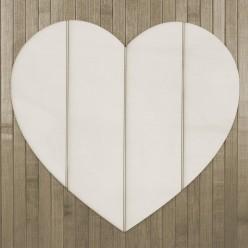 Silueta Soporte Corazón Listones