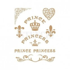 Stencil Deco Princess 0136