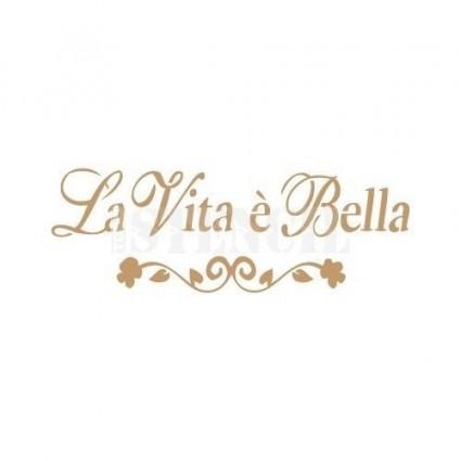 Stencil Deco Vita Bella 003