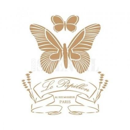 Stencil Deco Papillon 039