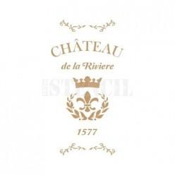 Stencil Deco Chateau 135