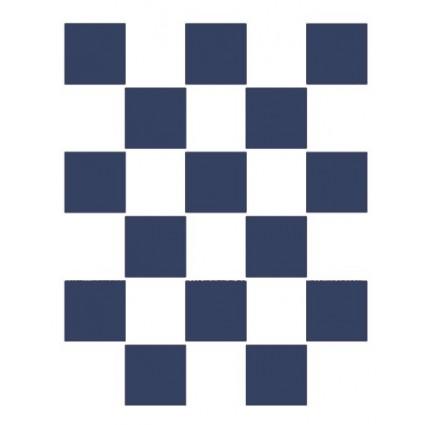 Stencil A4 ajedrez
