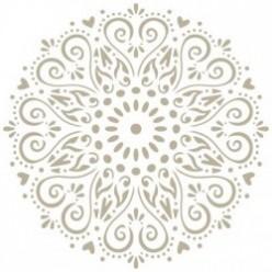 stencil mini deco mandala 003