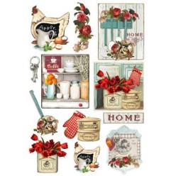 Papel de arroz 50 x 35 Country Kitchen
