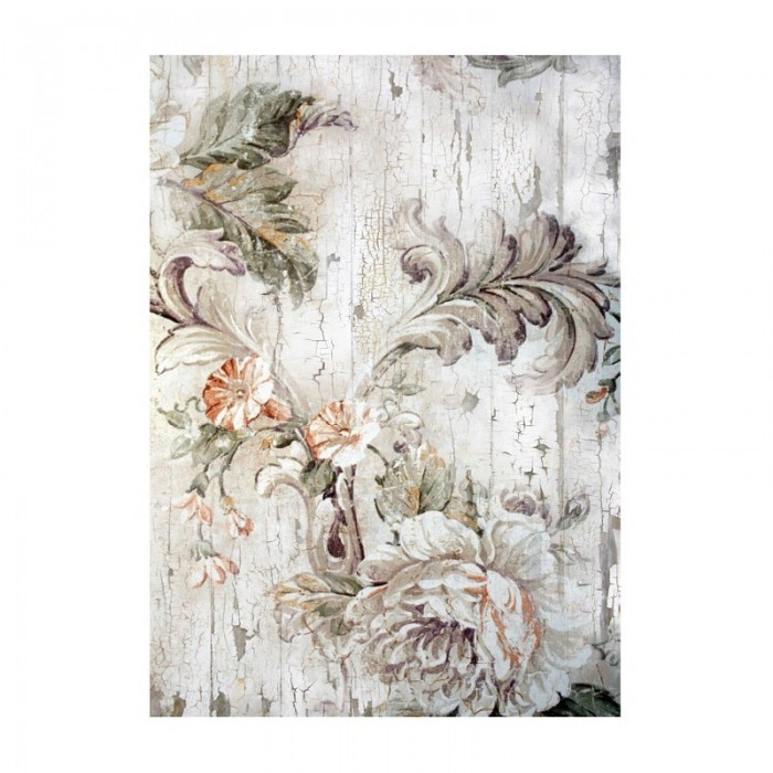 Papel de arroz a3 cadence 551 flores grises for Papel de arroz para decorar muebles