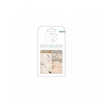 Papel scrap soft post card