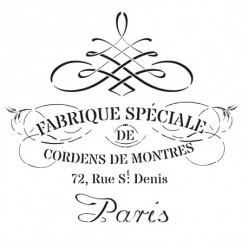 Stencil Cadence 45 x 45 Paris