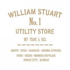 Stencil Deco vintage 080 williams Stuart