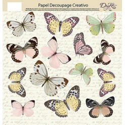 Papel Decoupage s227