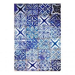 Papel de arroz A3 Cadence 306 Azulejos Azules