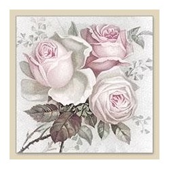 Servilleta Decoupage Big Rose