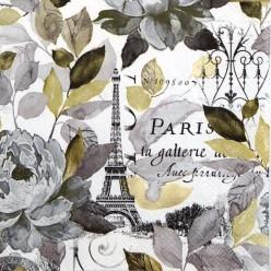 Servilleta Decoupage jardin  París