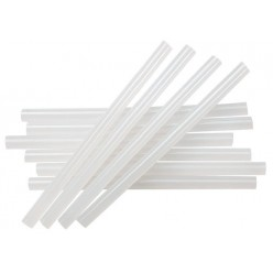 Barras de siliconan transparente PAQ: 10 unidades.  12 diametro