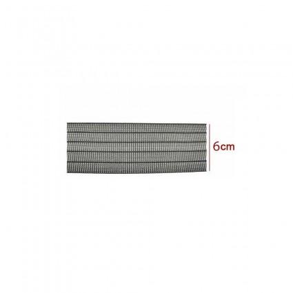 000409-Cincha elastica 6cm X 1m  ( 4 rayas )
