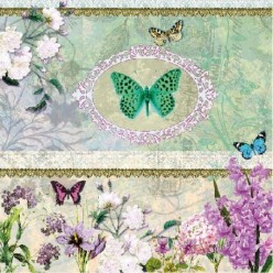 Servilleta Decoupage Butterflies