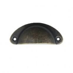 Tirador Vintage ovalado mediano