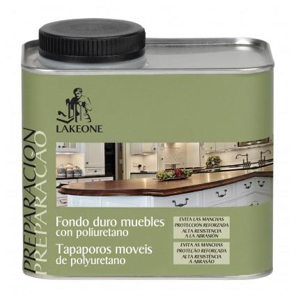 Fondo duro mueble de poliuretano 450ml lakeone