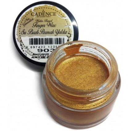 Finger wax cadence oro antiguo