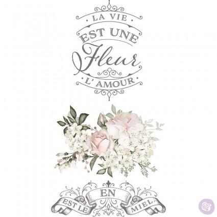La Vie Est Une Fleur 43.18x68.58
