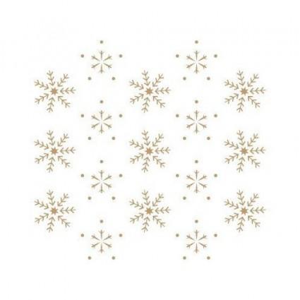 Stencil Copos de Nieve