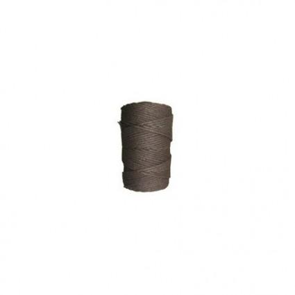 Algodón marrón oscuro