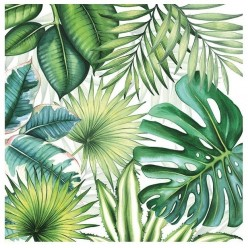 Servilleta Decoupage TROPICAL LEAVES