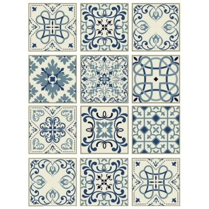 Papel Arroz TILES BALDOSAS CREMA