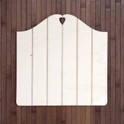 Soporte madera vintage listones (M) 30 X 30