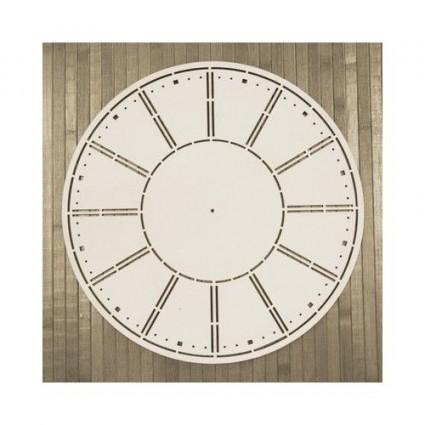 Soporte Madera trasera Reloj Engranajes (M) 30X30