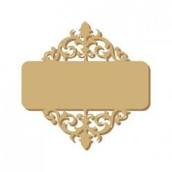 silueta placa nombre 008  (S) 8x11 cm
