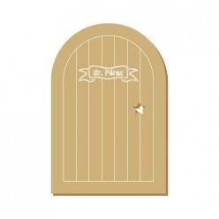 Silueta puerta Ratoncito perez (XXL) 12x18
