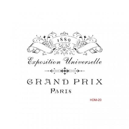 Stencil GRAND PRIX 25X25