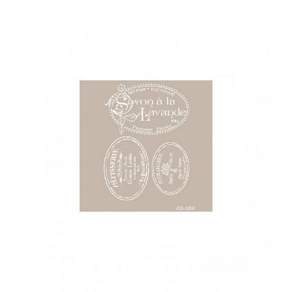 Stencil  LAVANDE 30X21
