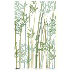 Papel de Arroz 54x33 Bamboo Plants