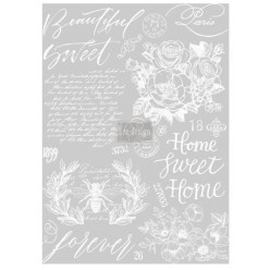 Beautiful Home re.design Decor Transfers 61x86.36cm