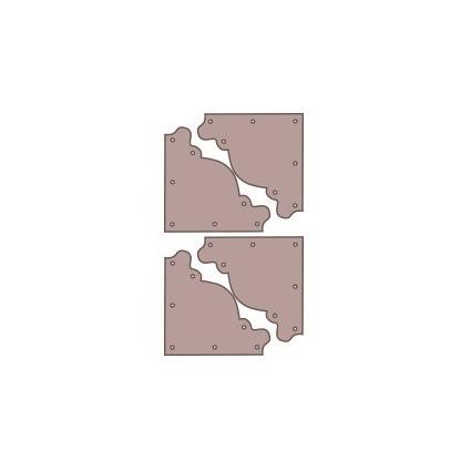 Esquineras simples cartón