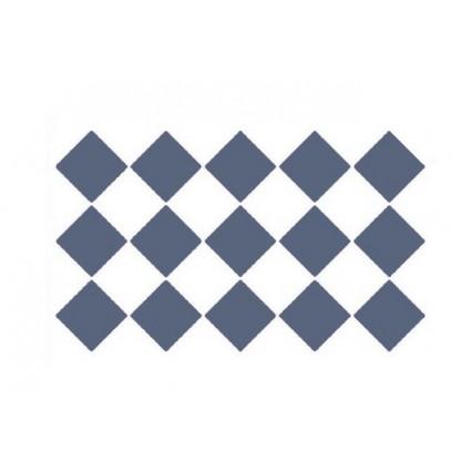 Stencil Fondo Rombos Chanel A4