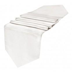 Camino de mesa 145x43 algodón blanco