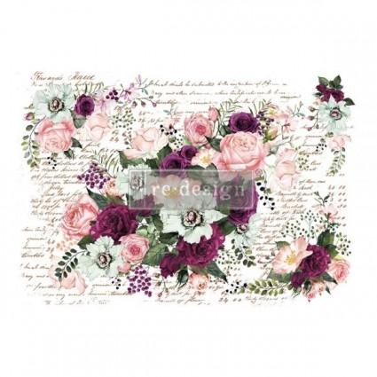 Redesing décor transfers- Violet Hill 119x83 cm