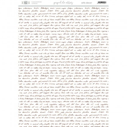 Papel Arroz ESCRITURA 29,7X42
