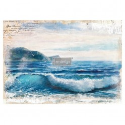 Blue Wave re.design Decor Transfers 61X81CM prima