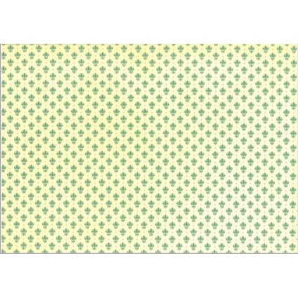 LYS GIGLIO VERDE con matices en oro 70X100 KARTOS