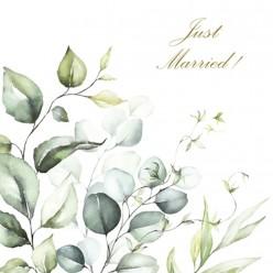 SERVILLETA 33X33CM ROMANTIC MARRIAGE
