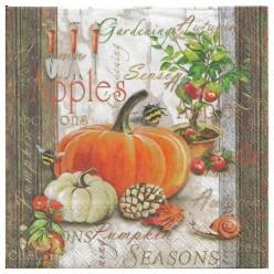 Servilleta  Autumn Gardening 33X33CM